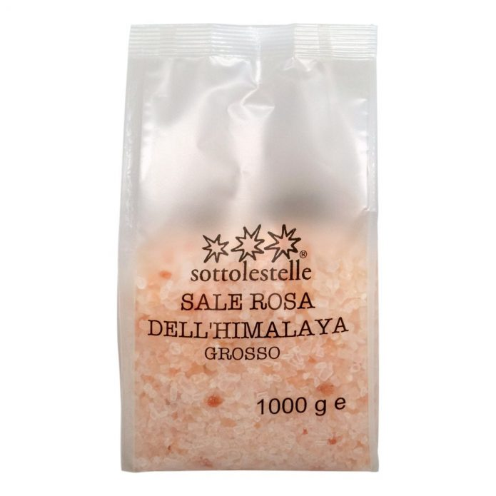 8032454071512 A Hạt Muối hồng Himalaya Sottolestelle 1000g - Sale Rosa Himalayano Grosso