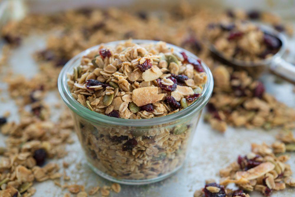 ngũ cốc hữu cơ granola sottolestelle