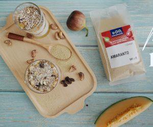 Làm món tráng miệng Parfait hạt dền (Amaranth)